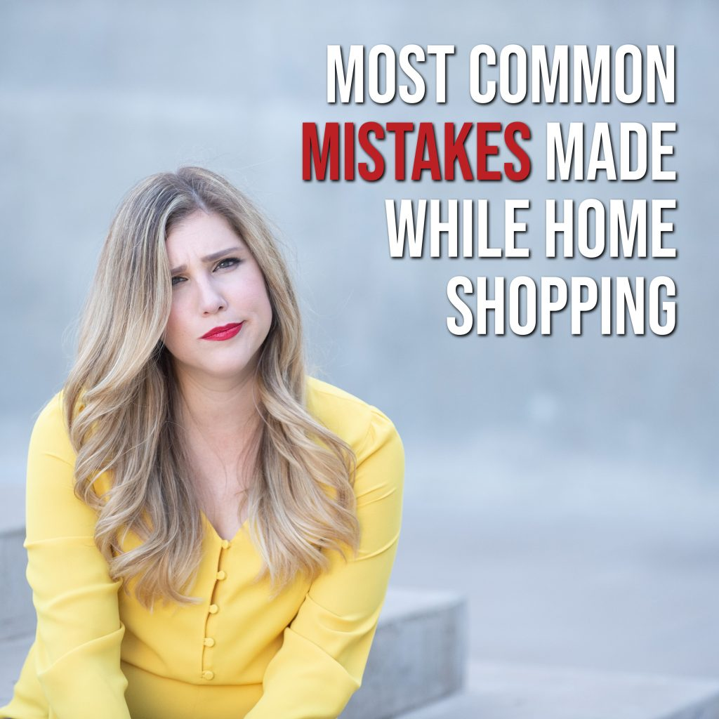 mistakes while home shopping